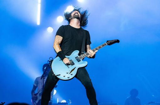 Dave Grohls Rock'n'Roll-Medizin