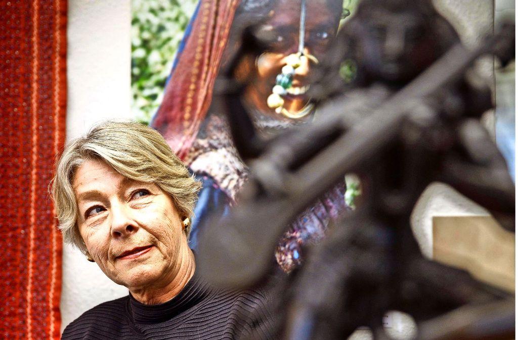 Marianne Frank-Mast kennt Indien gut. Seit ihrem ersten Besuch in den 1970er-Jahren hat sie das Land unzählige Male bereist. Foto: Gottfried Stoppel