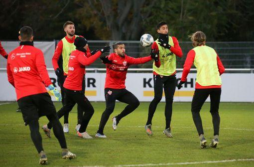VfB-Profis bereiten sich auf den Derby-Kracher vor