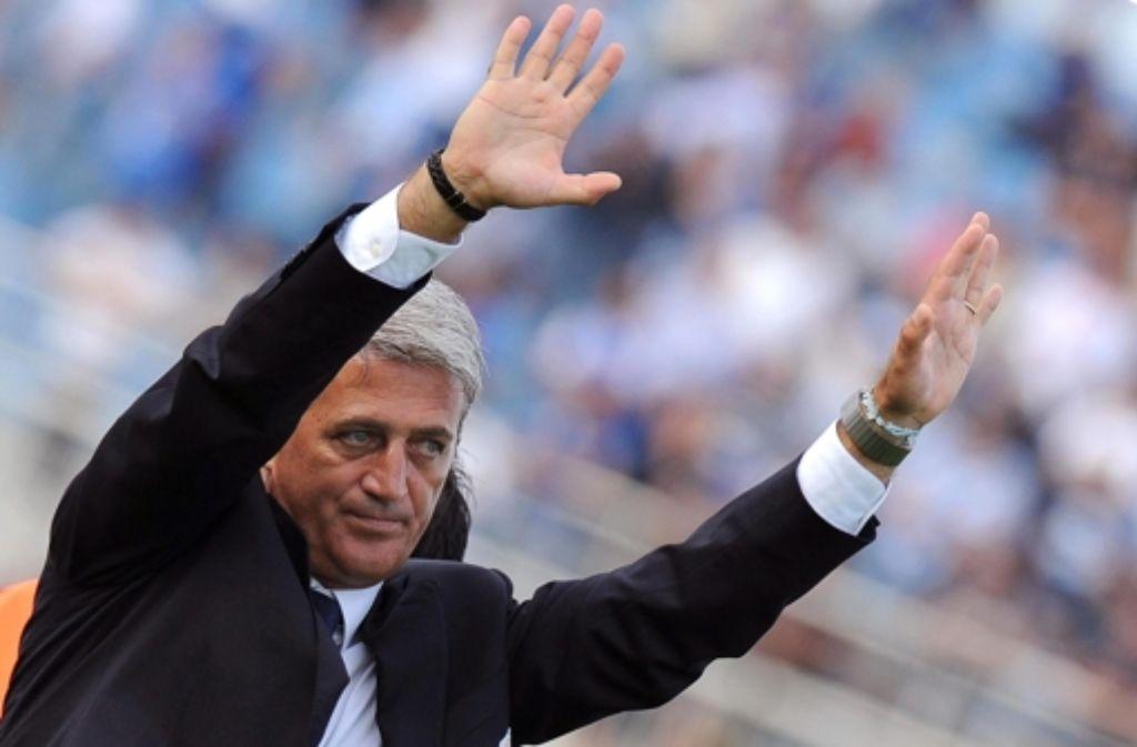 Lazio-Rom-Trainer Vladimir Petkovic Foto: dpa
