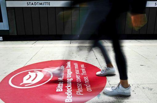 Der Verkehrsverbund Stuttgart ächzt unter Corona