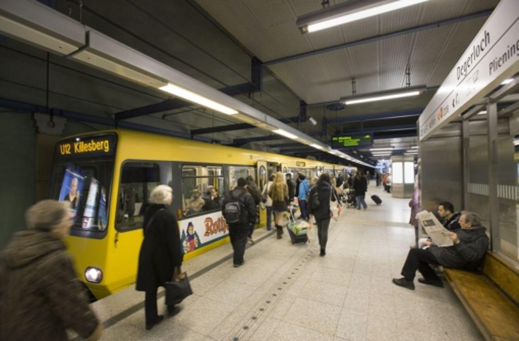 Die Linie U 12 wird ab 2016 von Dürrlewang nach Remseck fahren. Foto: Michael Steinert