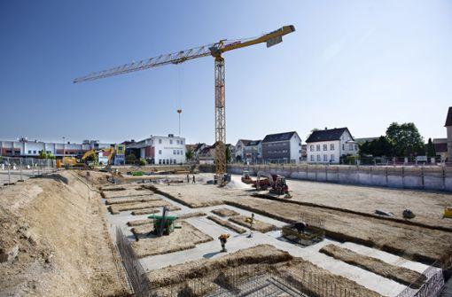 Neue Baugebiete  verändern die Stadt