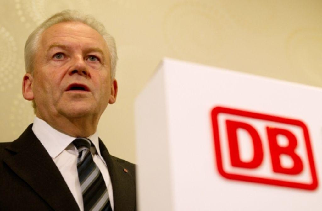 Rüdiger Grube Foto: dpa