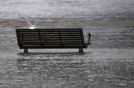 Schneeschmelze und Regen erhöhen Hochwassergefahr