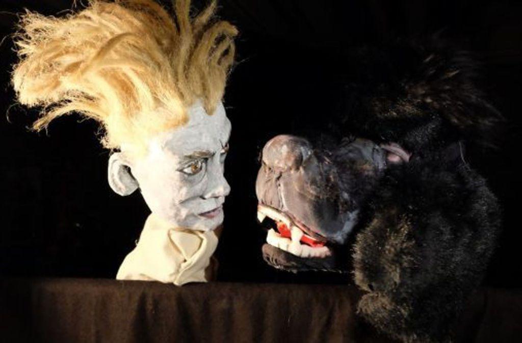 Der gelehrte Herr Faust und der Teufel in Gestalt eines Pudels – vielleicht nicht ganz so, wie Goethe sie sich einst vorgestellt hat. Foto: Fitz