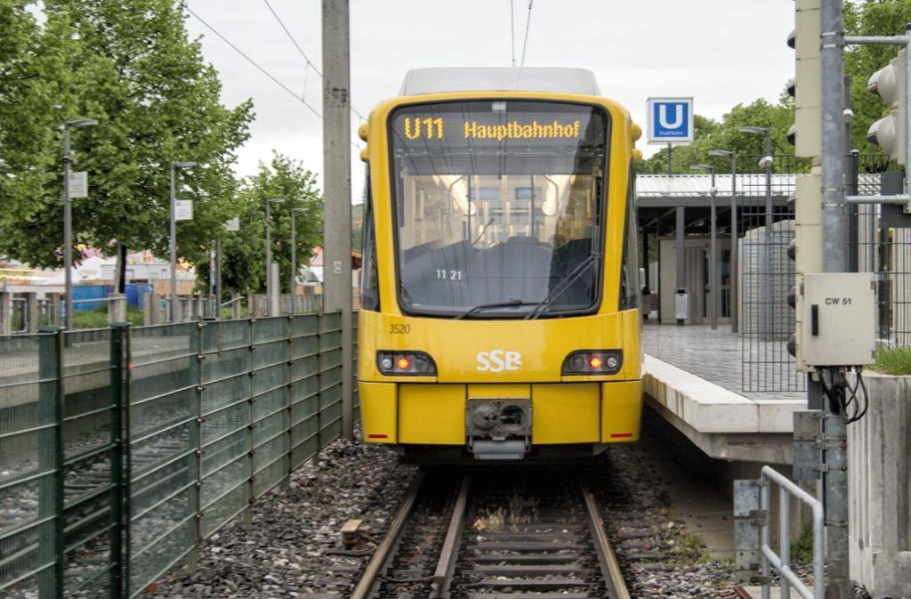 Die Linie U11 ist der Zug ins geistige Nirgendwo. Foto: Martin Stollberg