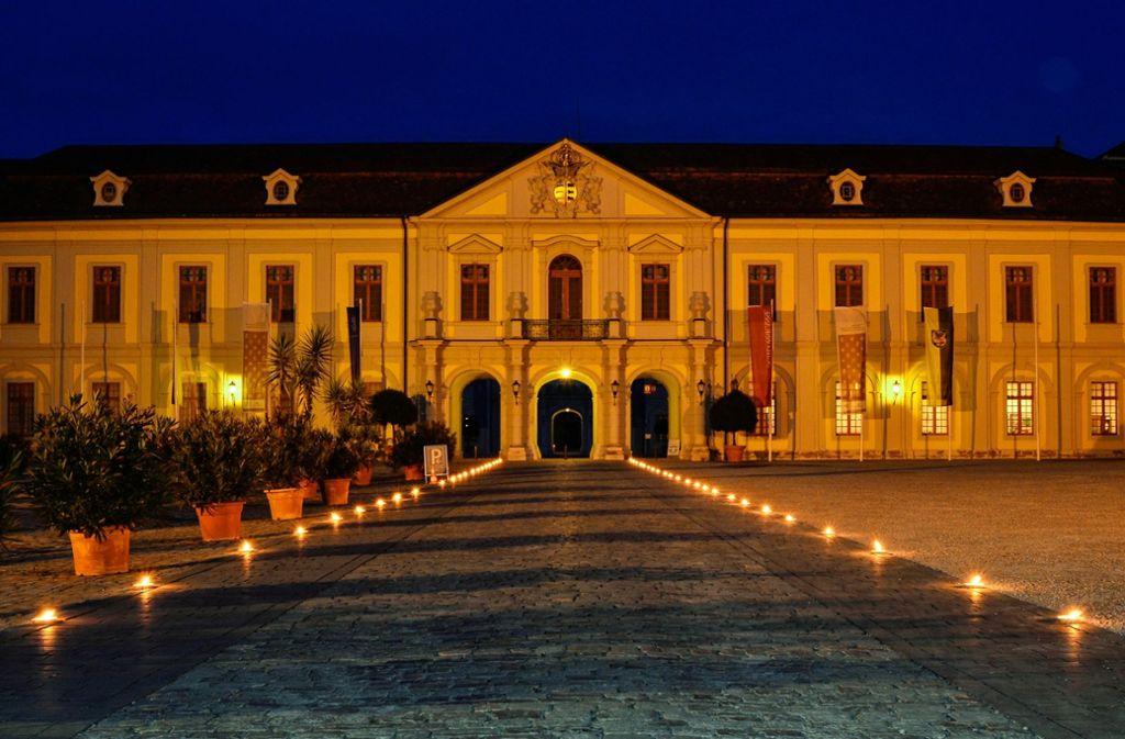 Es gibt nicht oft die Gelegenheit, das Schloss bei Nacht zu besuchen. Foto: Staatliche Schlösser und Gärten Baden-Württemberg