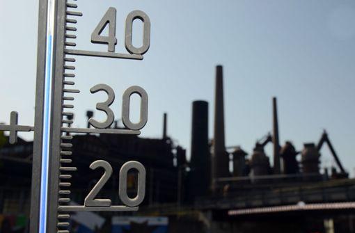 Wetterdienst meldet neuen deutschen Hitzerekord