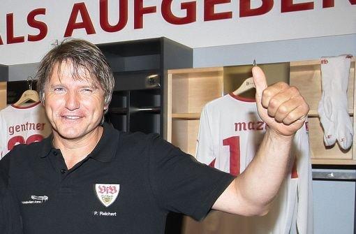 Ex-VfB-Torjäger Peter Reichert holt sich den Tagessieg am 29. Spieltag