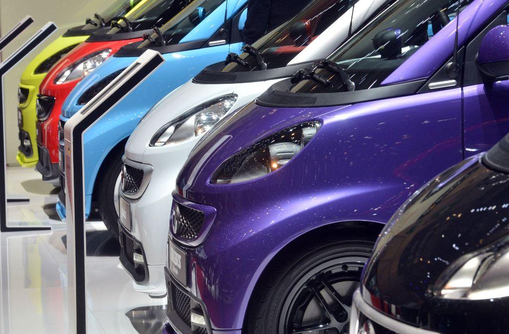 Autobauer Daimler will sich in den USA auf Smart-Modelle mit Elektroantrieb konsentieren. Foto: dpa