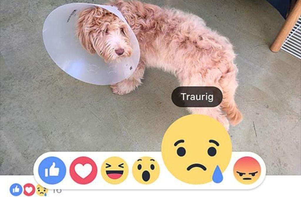 Neu bei Facebook: Emoji-Symbole. Foto: dpa