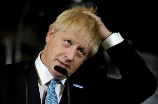 Johnson hofft weiter auf neuen Brexit-Vertrag