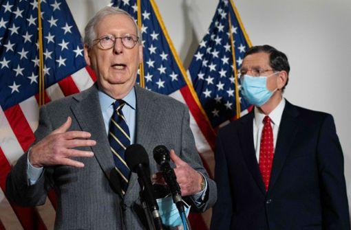 Fast alle Republikaner im US-Senat wollen Trump nicht ächten