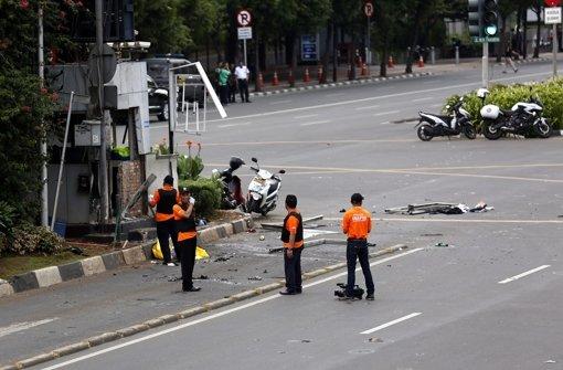 Sieben Tote ein  Deutscher verletzt