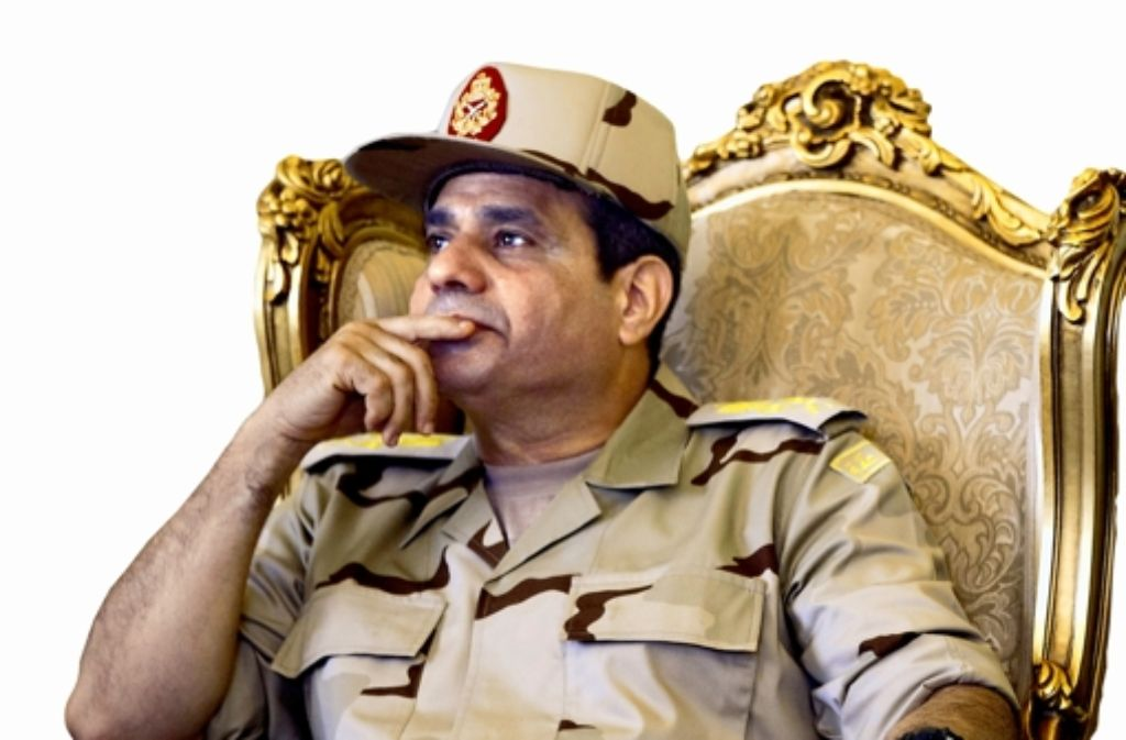 General Abdel Fattah al-Sissi gilt als Schlüsselfigur. Foto: dpa