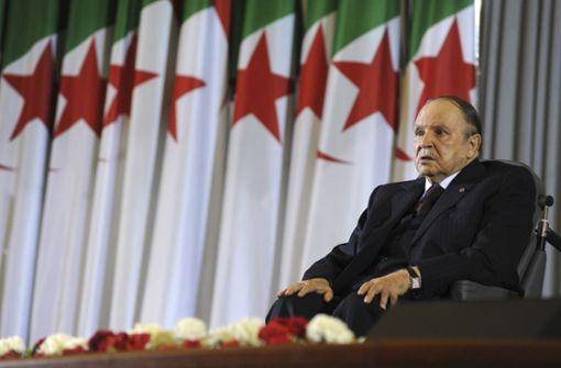 Präsident Bouteflika tritt zurück