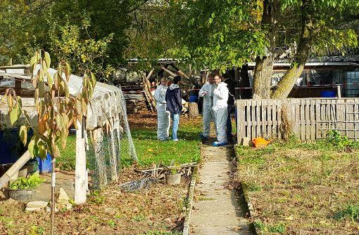 Verkohlte Leiche in Gartenhaus entdeckt