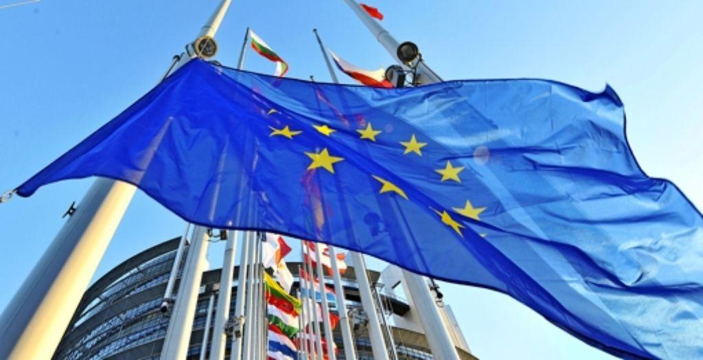 In zwei Wochen stimmen die Europäer über die Zusammensetzung ihres Parlaments ab, das seinen Hauptsitz in Straßburg hat. Foto: AFP