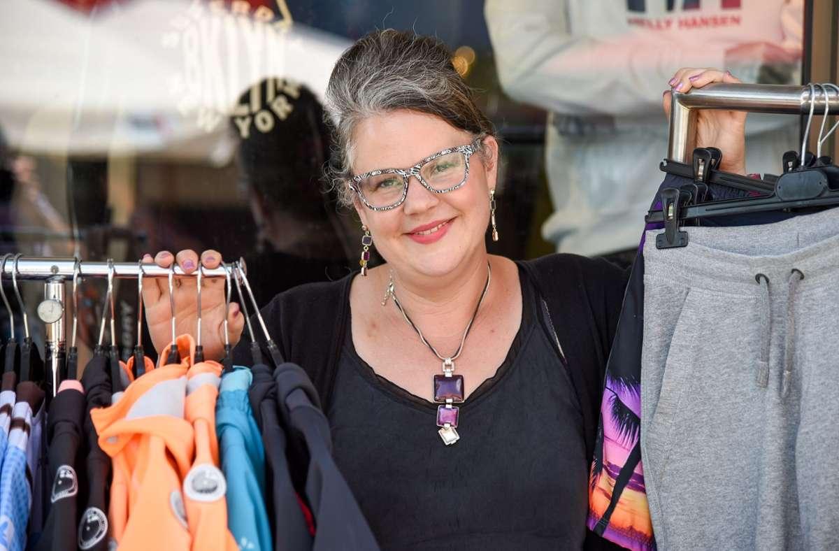 Veranstalterin Tatjana Birkenbach lädt wieder auf den Flohmarkt an der Wandelhalle Foto: Archiv/Thomas Bischof