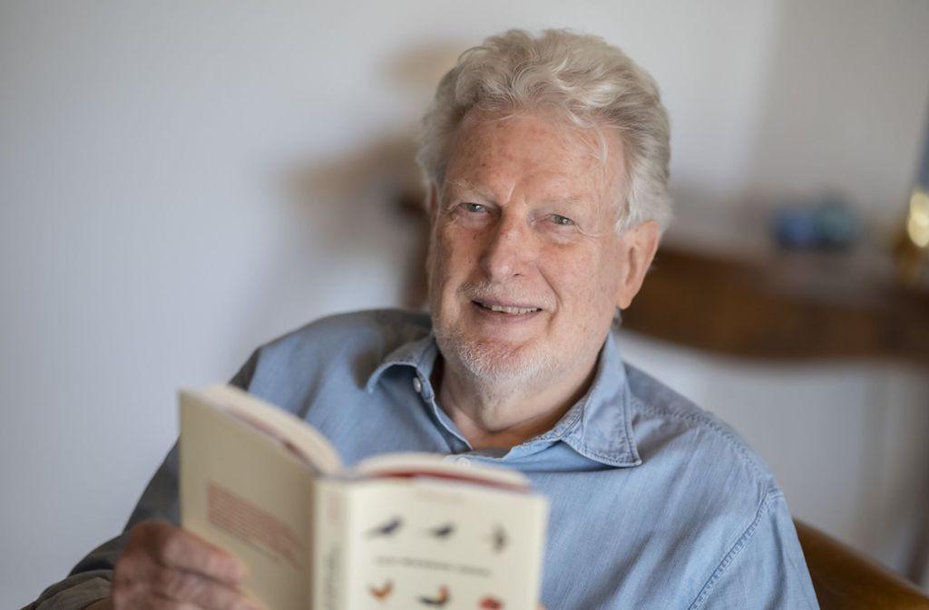 Peter Voß bleibt als Dichter und Medienkritiker aktiv. Foto: dpa/Uli Deck