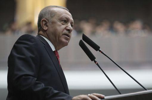 Erdogan kritisiert EU für Unterstützung Guaidós