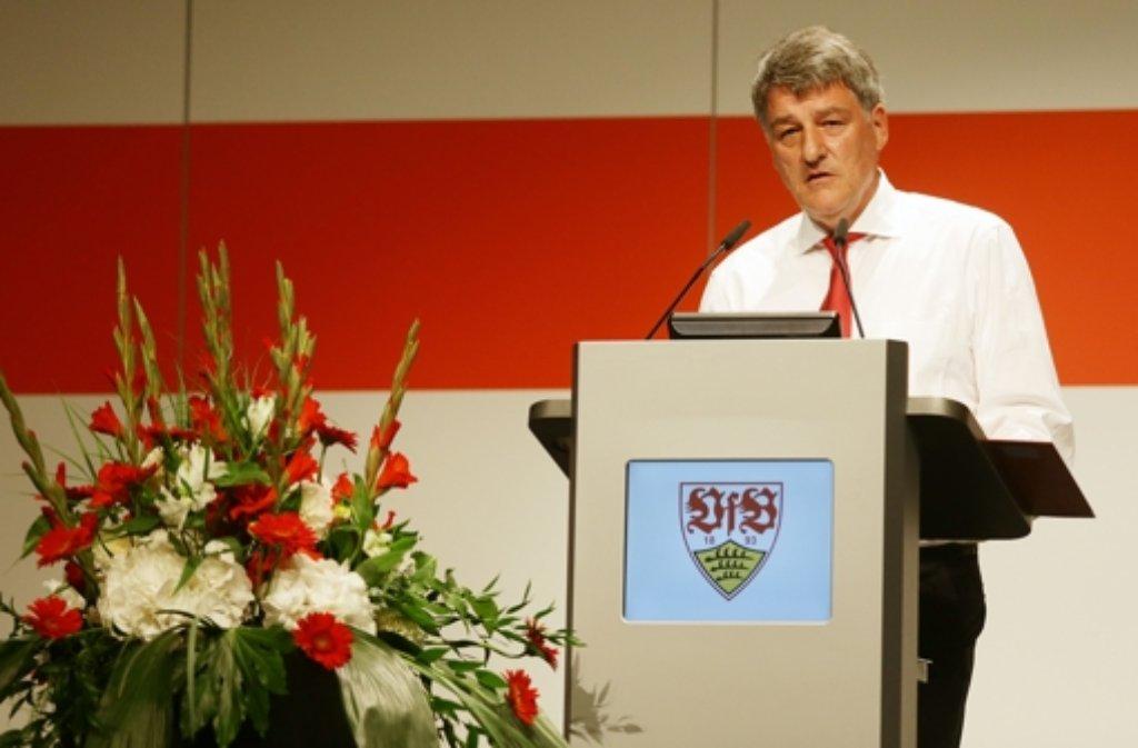 Die nächste Mitgliederversammlung des VfB Stuttgart steigt im Oktober.  Foto: Pressefoto Baumann