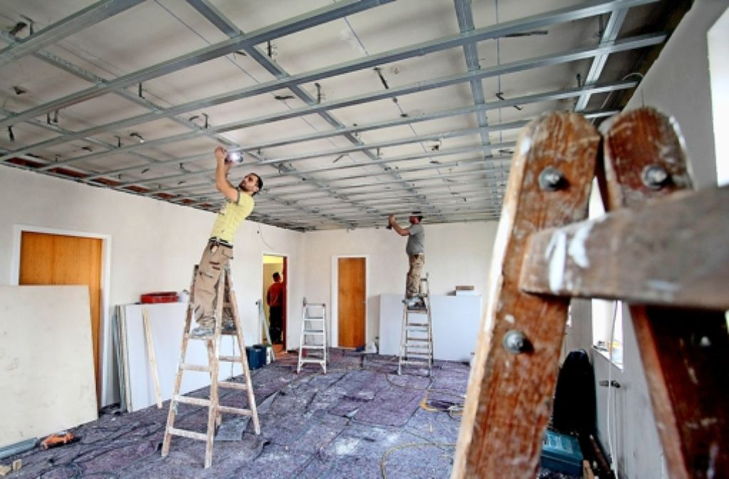 Baustelle: zurzeit werden die Paare woanders getraut. Foto: factum/Granville