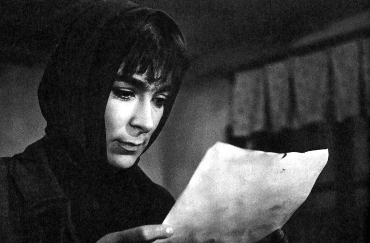 "Hana Hegerova 1963 in Karel Kachynas Spielfilm ""Hoffnung"" Foto: imago images/Ronald Grant/Mary Evans Picture Library"