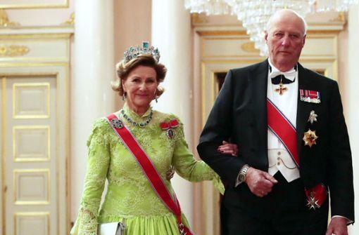 Norwegischer König aus dem Krankenhaus entlassen