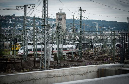 Das Gleisvorfeld des Stuttgarter Hauptbahnhofs ist umkämpft. Foto: Lichtgut/Achim Zweygarth