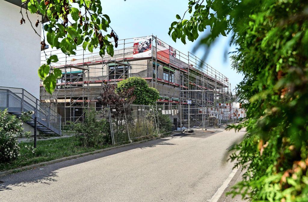 Der Kindergarten an der Rankbachstraße nimmt Gestalt an. In Zukunft braucht es noch weitere Einrichtungen. Foto: factum/