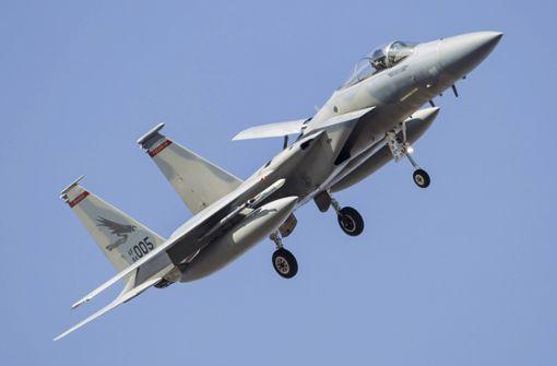 Kampfjet der US-Luftwaffe in Nordsee abgestürzt