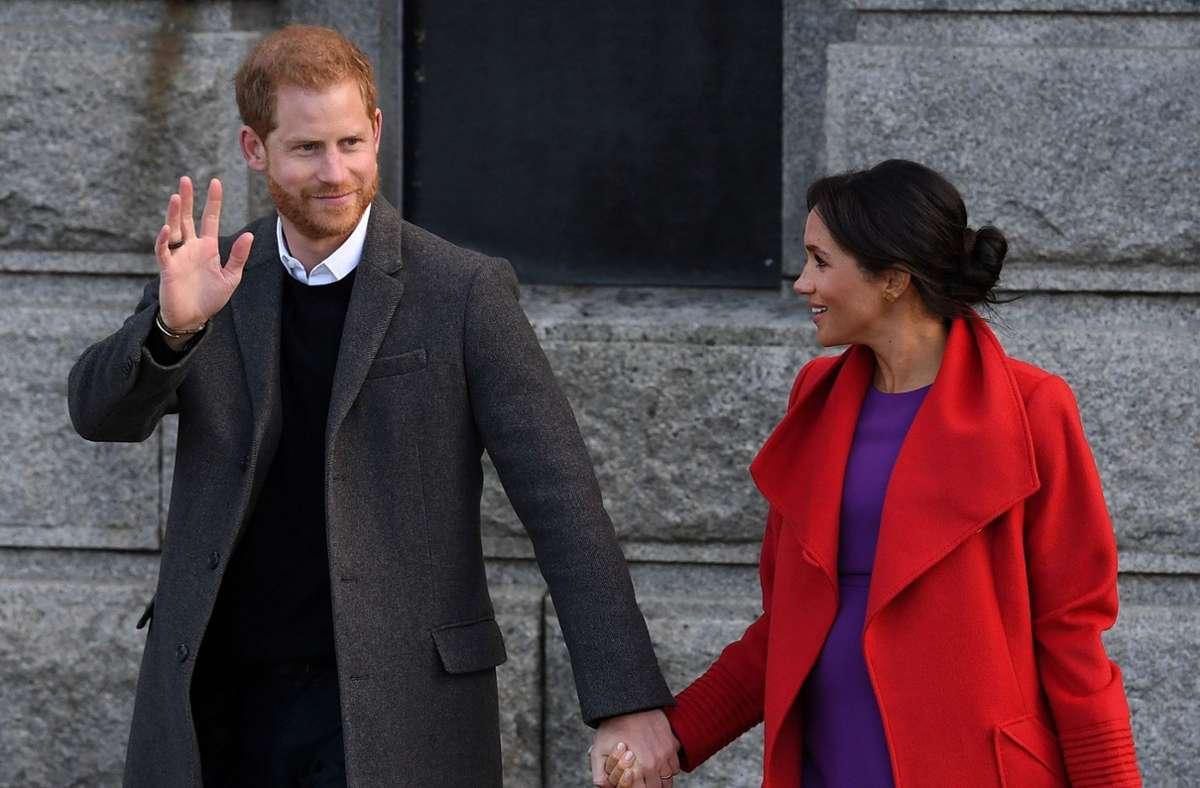 """Prinz Harry und Herzogin Meghan suchen nach dem """"Megxit"""" noch nach ihrer Rolle. Foto: AFP/PAUL ELLIS"""
