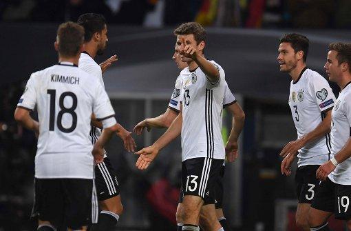 Deutschland besiegt Tschechien klar