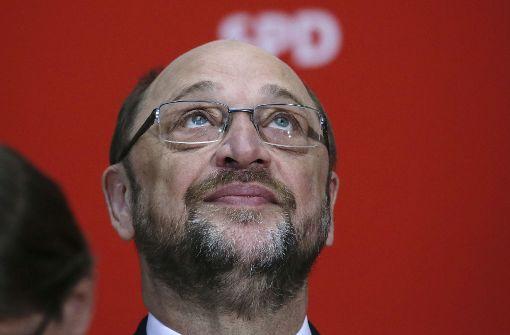 Der Höhenflug war kurz die Fallhöhe groß Martin Schulz