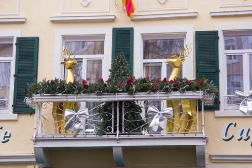 Vorschaubild zum Artikel Balkon weihnachtlich dekorieren