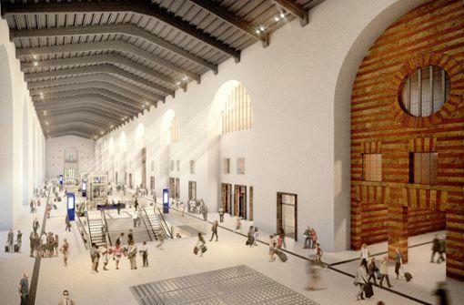 Runderneuerter Bahnhof kostet 250 Millionen