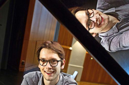 Heimspiel für den Shootingstar am Klavier