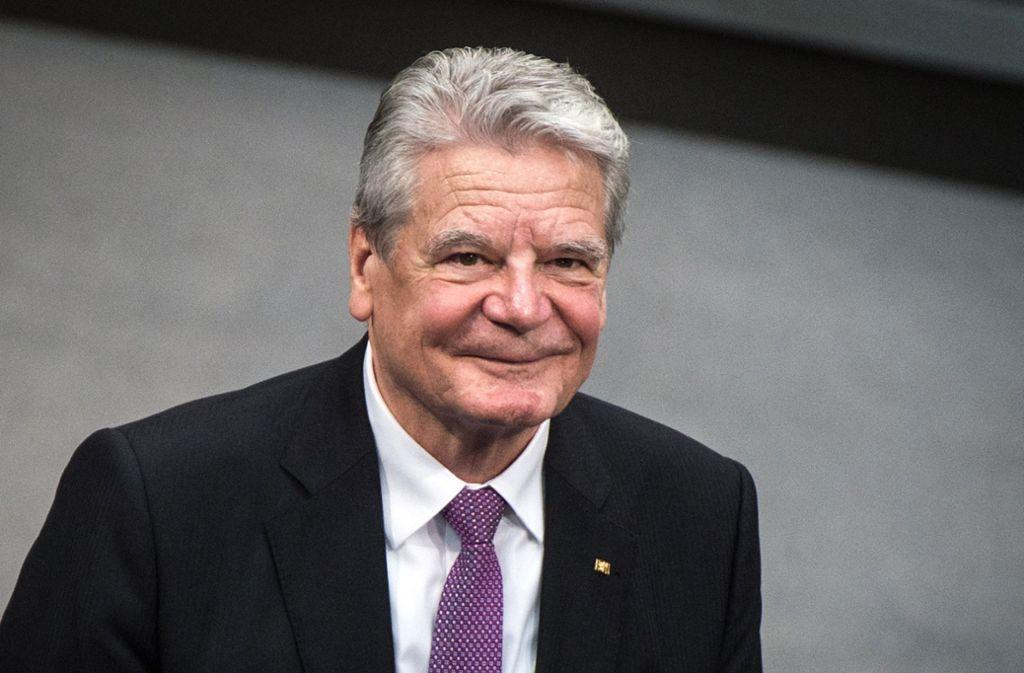 Das Personenschutzkommando von Gauck war an Land vor Ort, bestätigte das BKA. Foto: dpa