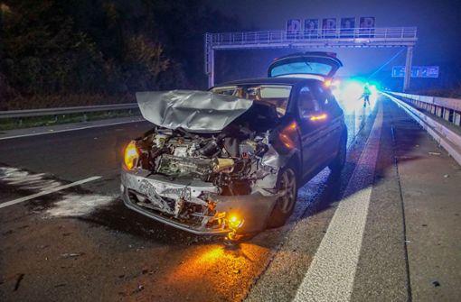 Europaletten verloren und mehrere Unfälle verursacht