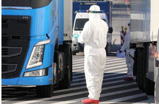 Deutschland riegelt Grenzen ab – Warnung vor Lieferproblemen