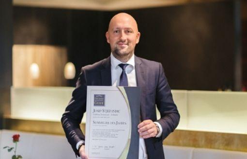 Josip Stjepandic: Ein Fellbacher ist Sommelier des Jahres