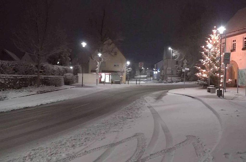Mancherorts in der Region Stuttgart hat es schon kräftig geschneit. Foto: 7aktuell.de | Oskar Eyb