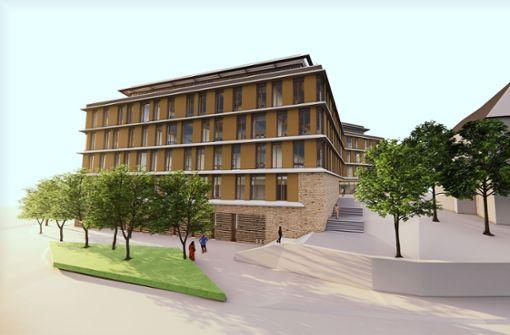 Das neue  Landratsamt darf gebaut werden