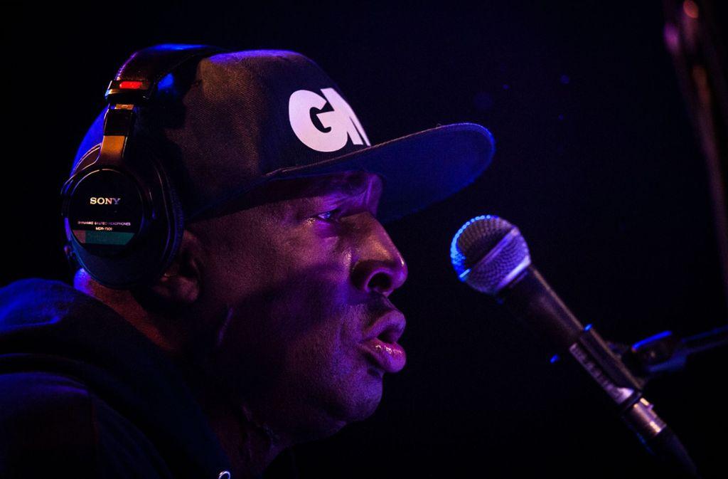 Grandmaster Flash hat im Wizemann durch die Geschichte des New Yorker Hip-Hop geführt. Foto: Lichtgut/Christoph Schmidt