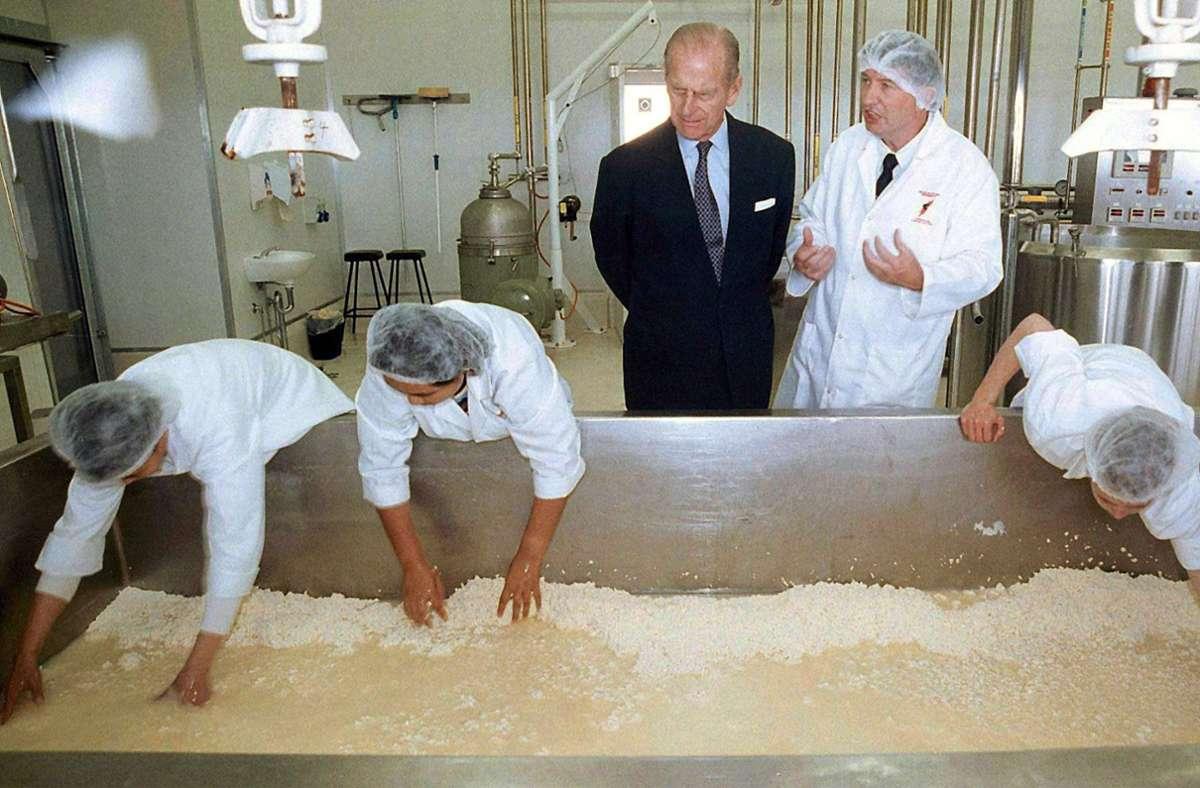 Prinz Philip war ein großer Fan von Kochshows. Foto: dpa/Les_Smith_Pool