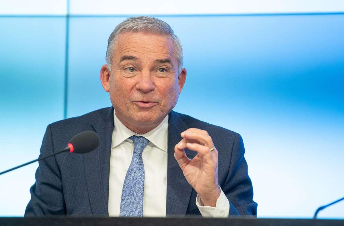 Thomas Strobl will, dass seine Partei digital über einen neuen Chef abstimmt. Foto: dpa/Sebastian Gollnow