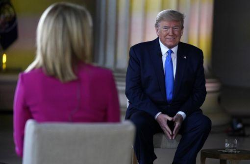 Donald Trump glaubt an schnellen Impfstoff
