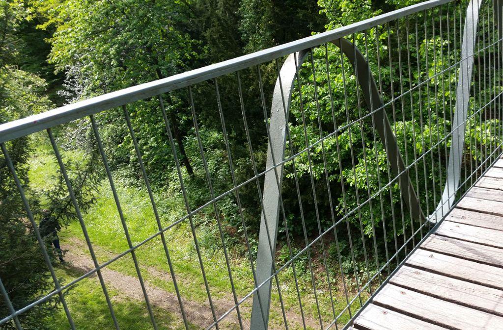 Unterhalb der Hängebrücke im Höhenpark wäre ein Taubenturm denkbar. Foto: /Eva Funke